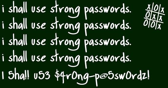 Самые популярные пароли 2015 года
