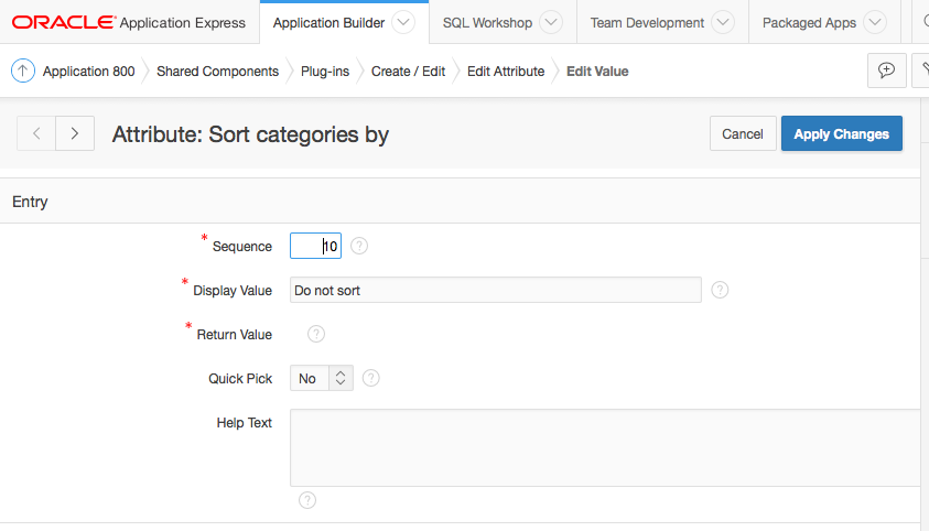 Создаем плагин региона для Oracle Application Express - 1