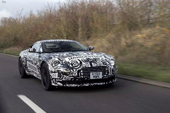 Aston Martin привезет в Женеву новый суперкар