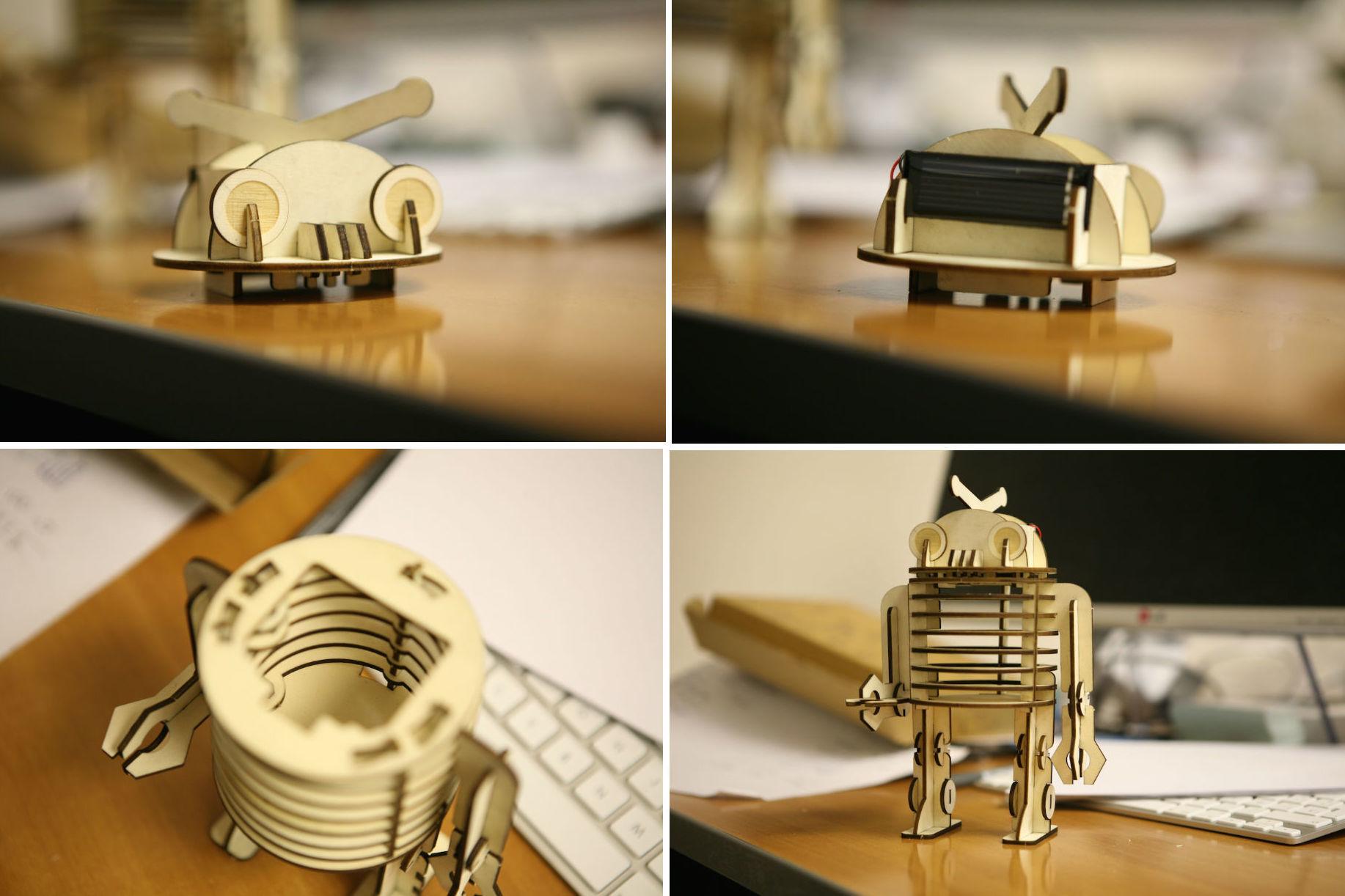 Ugears — деревянные механические 3D-пазлы с Kickstarter - 2