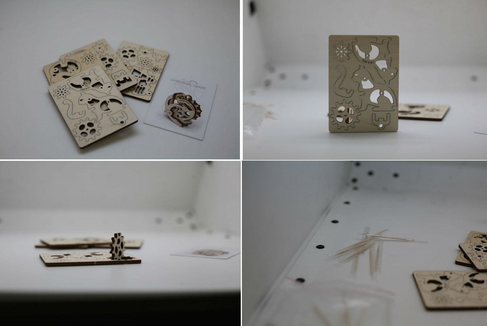 Ugears — деревянные механические 3D-пазлы с Kickstarter - 4