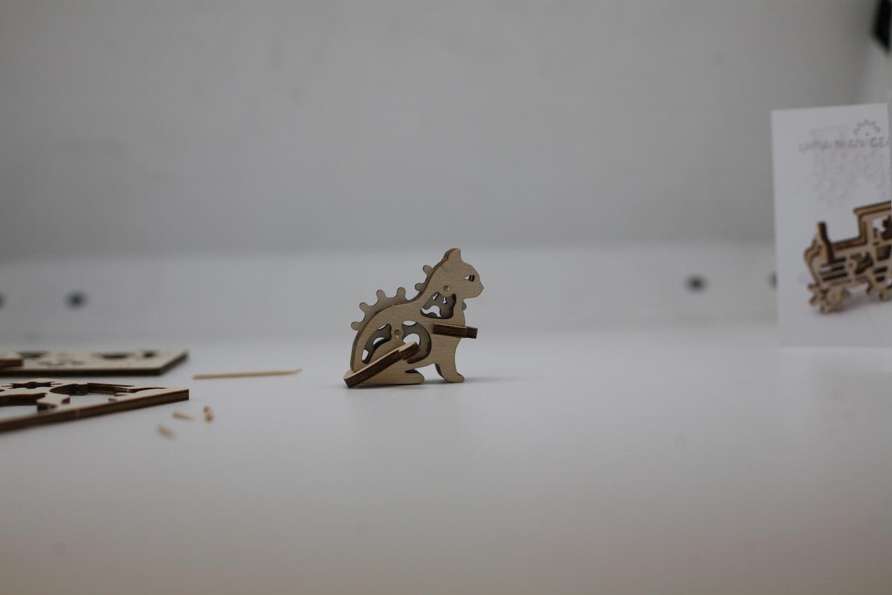 Ugears — деревянные механические 3D-пазлы с Kickstarter - 8