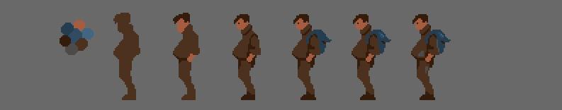 «Галоп пикселя — часть третья» — Анимация - 38