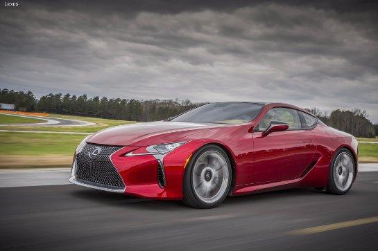 Lexus пополнит модельный ряд спортивным купе