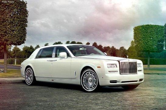 Rolls-Royce отметился очередным эксклюзивным проектом