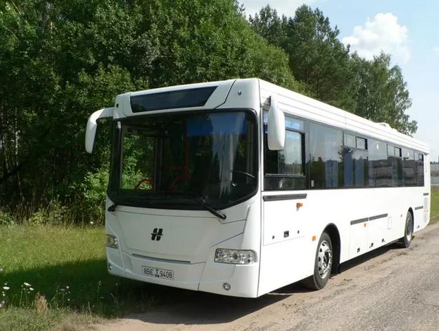Volat совершенствует автобусы «Неман»