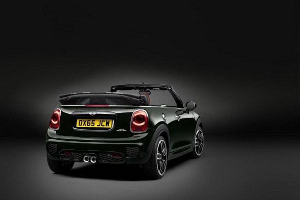 Новый MINI John Cooper Works Cabrio: еще однин топ-спортсмен нового поколения