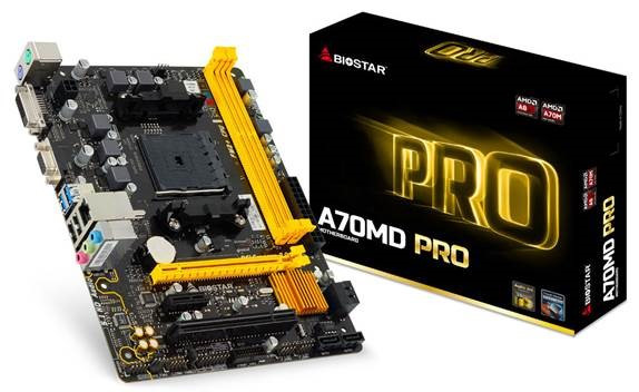 Платы типоразмера microATX построены на чипсете AMD A70M