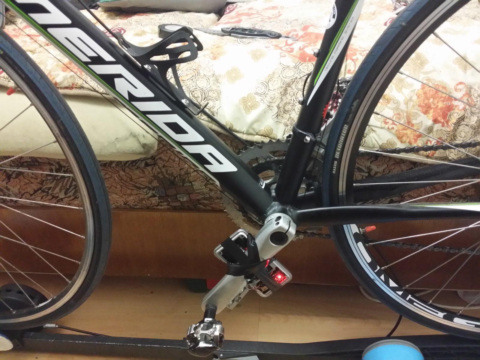 Самодельный велосипедный измеритель мощности - 1