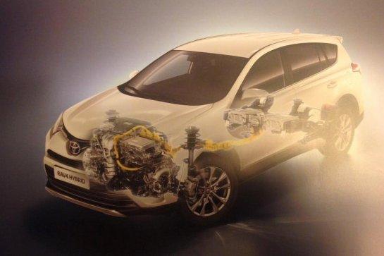 У нас на тесте: Toyota RAV4 D-4D и Hybrid