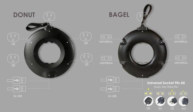 MOGICS Power Donut & Bagel: эргономичный и универсальный удлинитель, который поможет везде и всюду - 2