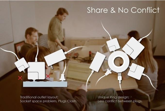 MOGICS Power Donut & Bagel: эргономичный и универсальный удлинитель, который поможет везде и всюду - 1
