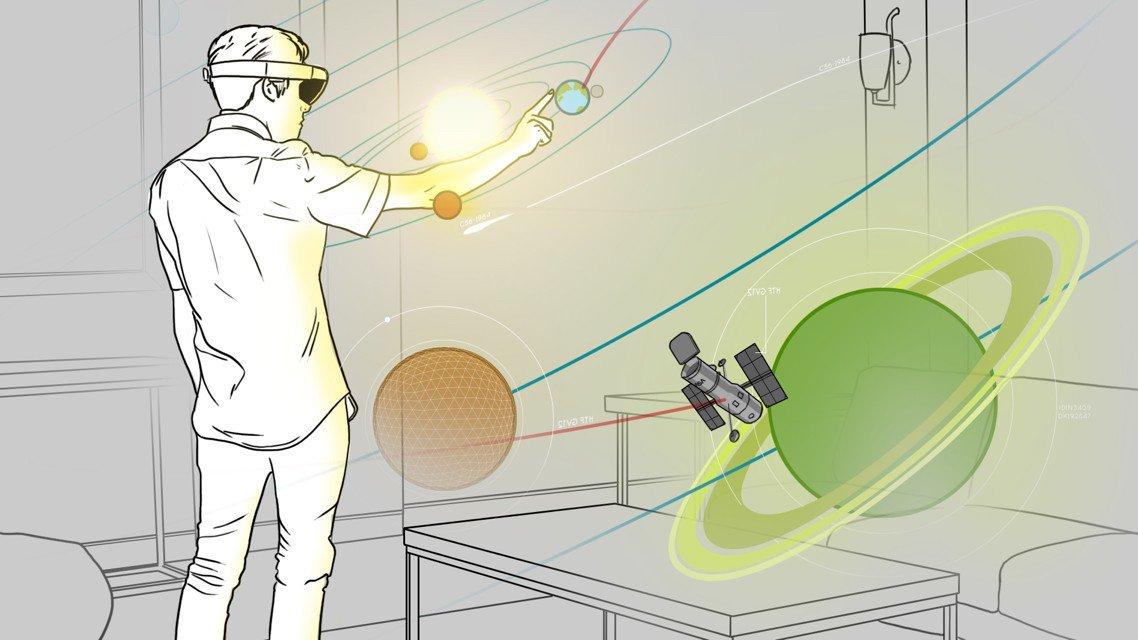 Microsoft выбрала три лучшие идеи приложений для своих очков Hololens - 3