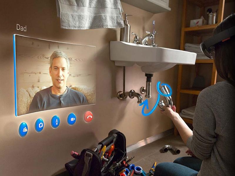 Microsoft выбрала три лучшие идеи приложений для своих очков Hololens - 1