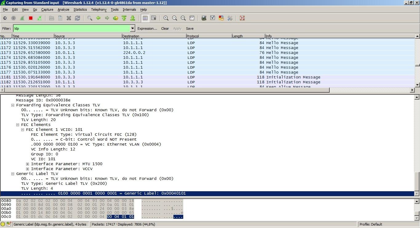 VPLS. Распределение меток с помощью BGP - 2