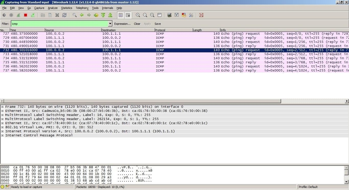 VPLS. Распределение меток с помощью BGP - 3