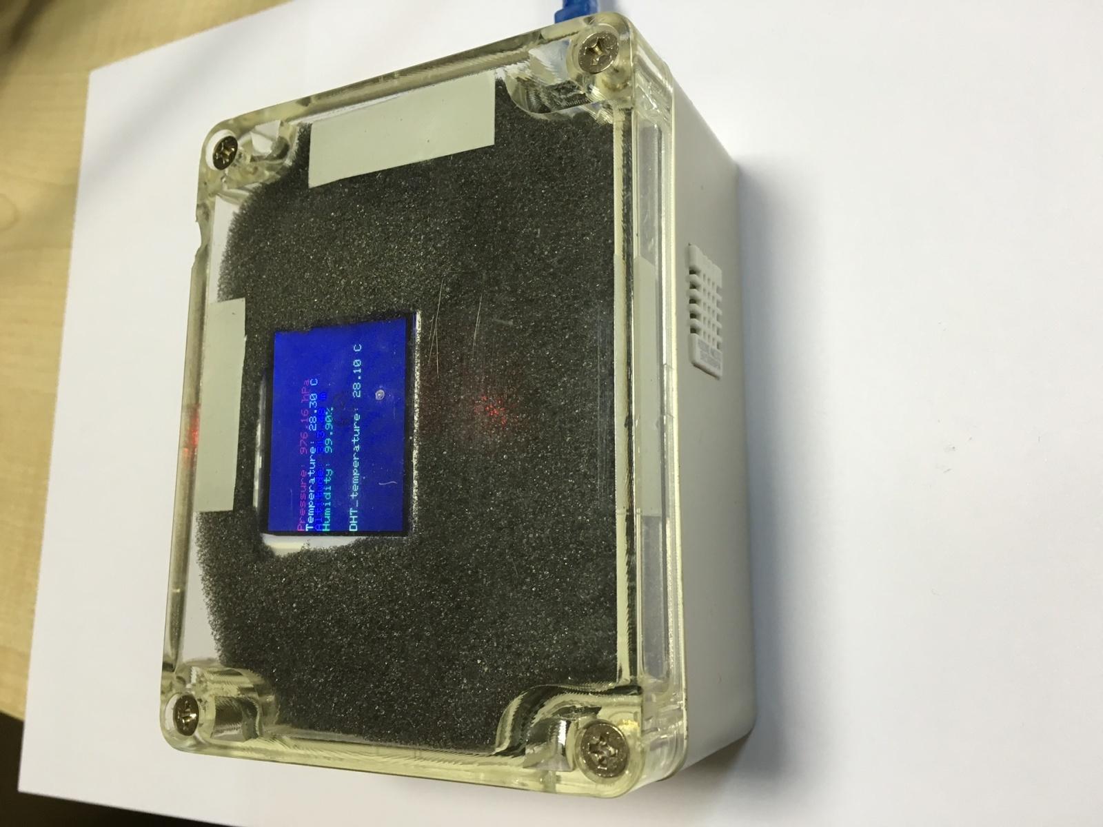 Домашняя метеостанция на базе Arduino - 11