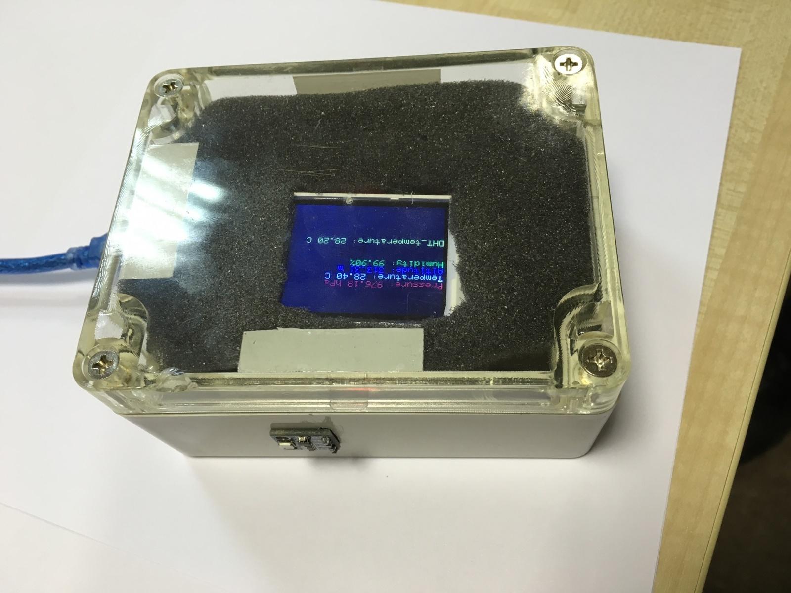 Домашняя метеостанция на базе Arduino - 12