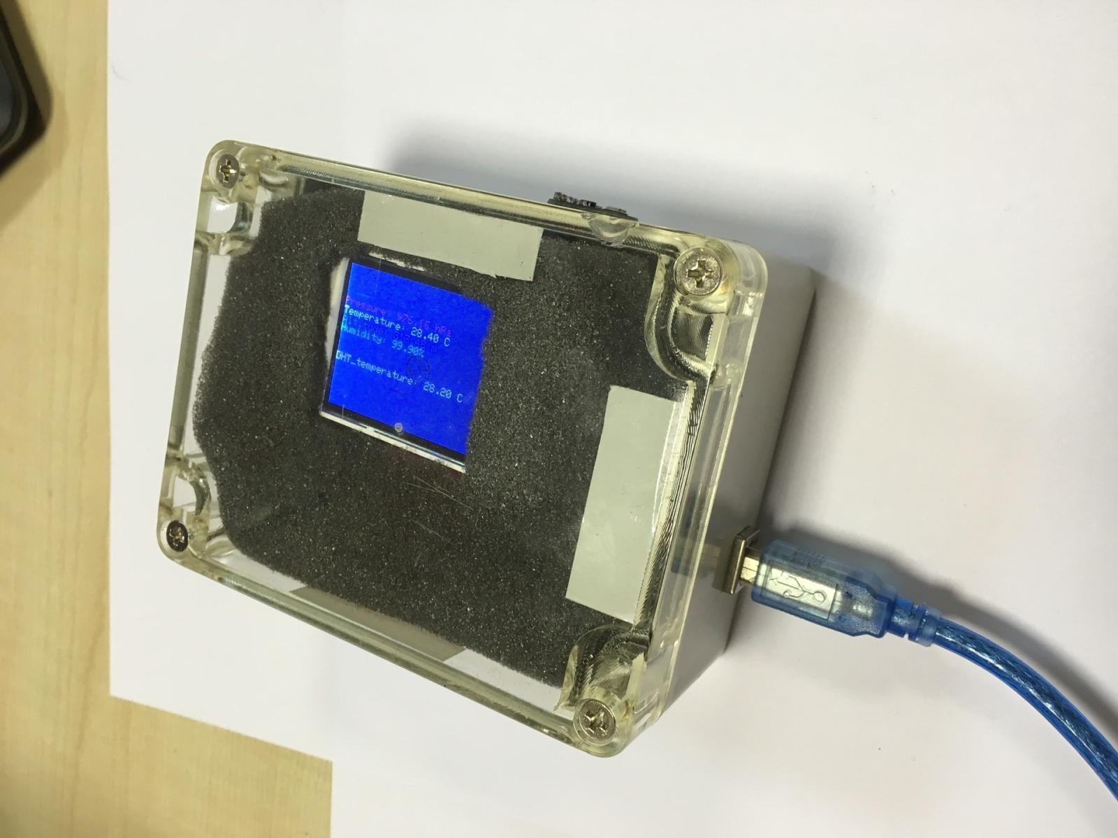 Домашняя метеостанция на базе Arduino - 13
