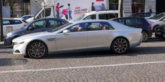 Эксклюзивный Aston Martin Lagonda заметили в Париже