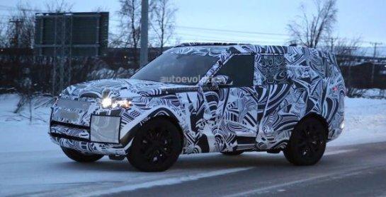 Новый Land Rover Discovery замечен на зимних тестах (фото)