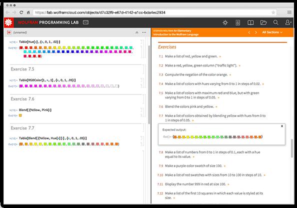 Представляем бесплатную лабораторию программирования Wolfram Programming Lab для изучения языка Wolfram Language - 4