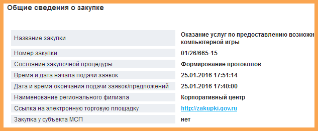 Закупка тендер, Ростелеком танк