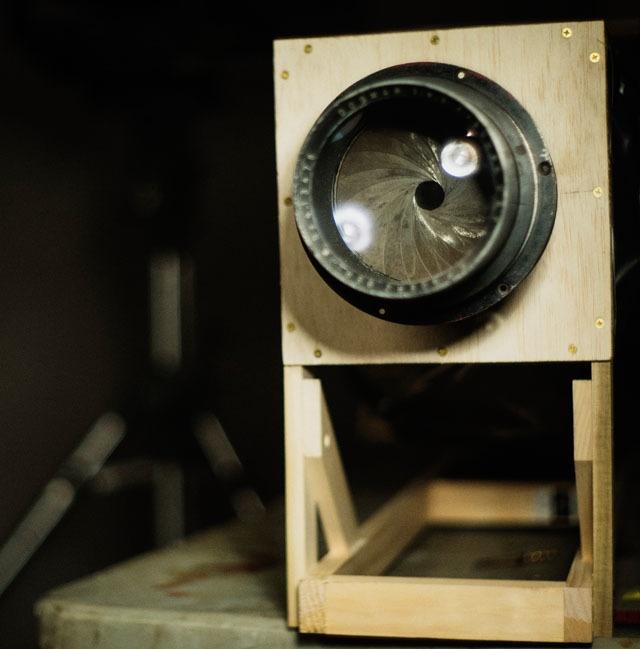 Самодельная камера 16×20 дюймов за 10 часов - 10