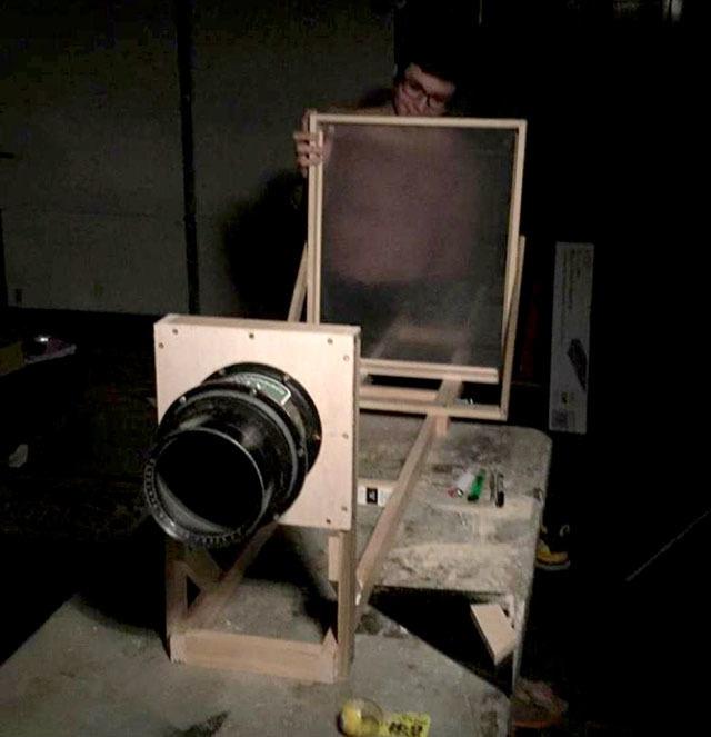 Самодельная камера 16×20 дюймов за 10 часов - 3