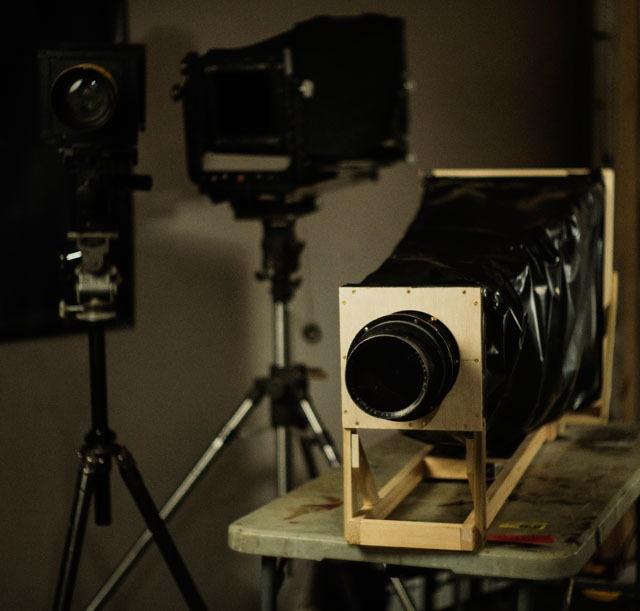 Самодельная камера 16×20 дюймов за 10 часов - 8