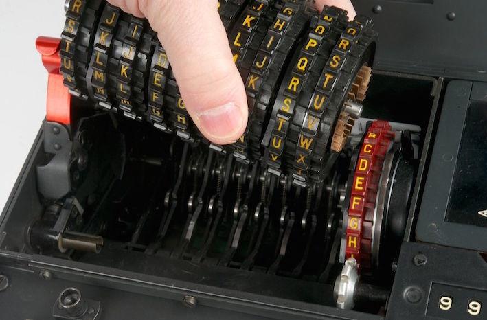 Шифровальная машина NEMA - 14