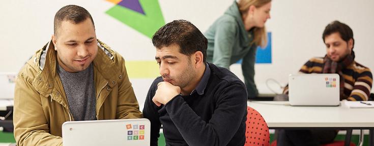 Google поможет беженцам хромбуками