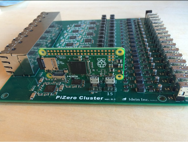Raspberry Pi Zero Cluster Board: вычислительный кластер на основе Pi Zero - 1