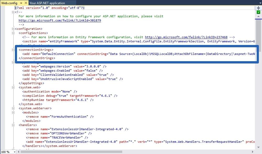Как использовать БД SQL в студенческом Microsoft AZURE от Dreamspark - 14