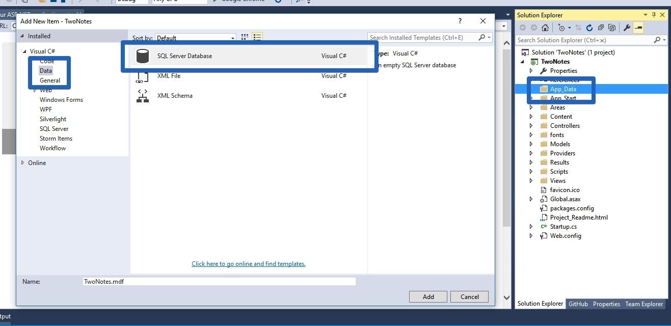 Как использовать БД SQL в студенческом Microsoft AZURE от Dreamspark - 5