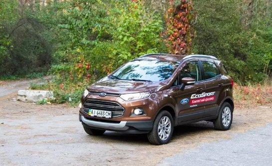Компактный и комфортабельный автомобиль Ford Ecosport