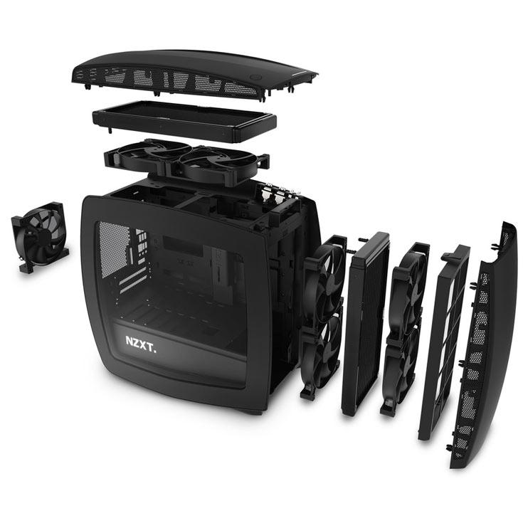Компьютерный корпус NZXT Manta весит 7,2 кг