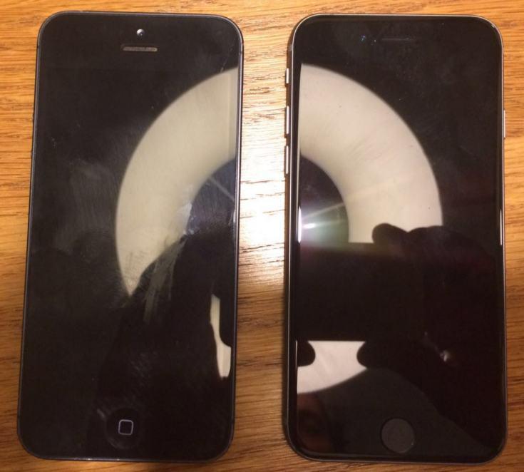 Фото дня: смартфоны iPhone 5 и iPhone 5se