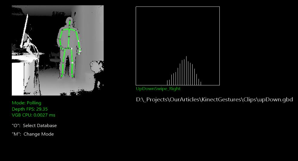 Пользовательские жесты, Kinect + Unity. Часть 1 - 10