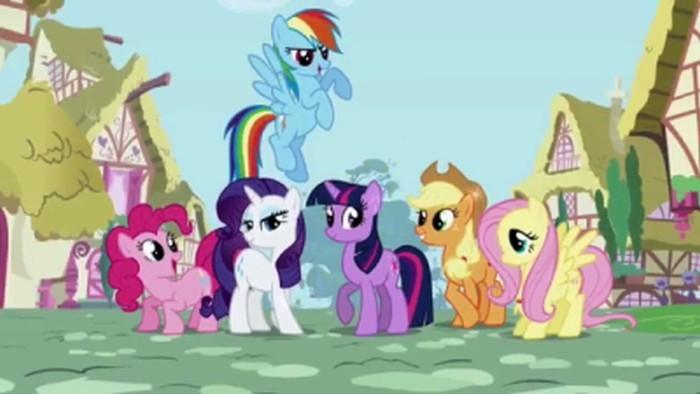 Создателей мультика My Little Pony судят за пиратский шрифт - 4