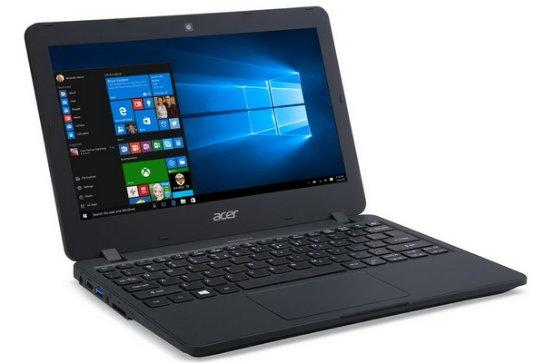 Acer TravelMate B117 – небольшой ученический ноутбук