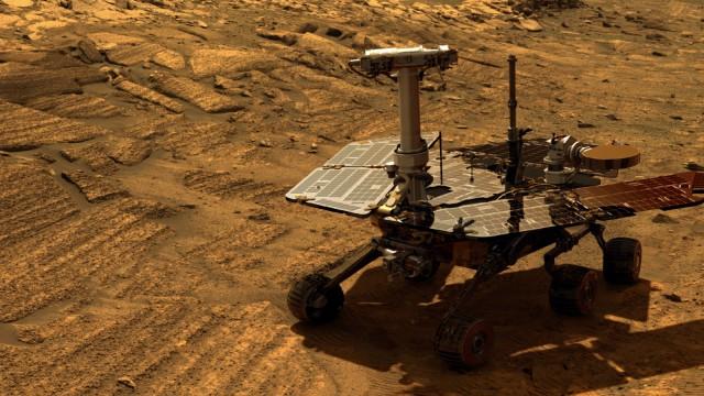 Марсоход Opportunity работает на Марсе уже 12 лет - 1