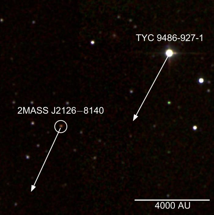 Найдена планета, удалённая от своей звезды на триллион километров - 2