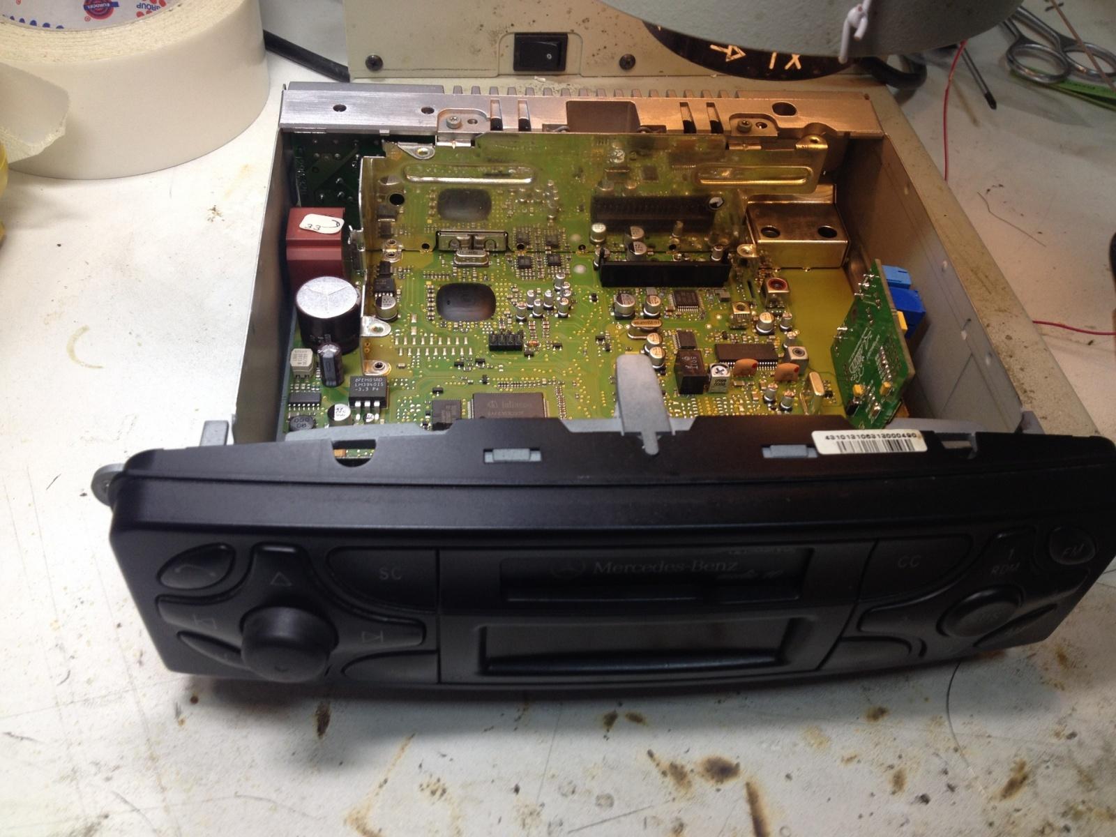 Расширение возможностей аудиосистемы Mercedes W203 - 5