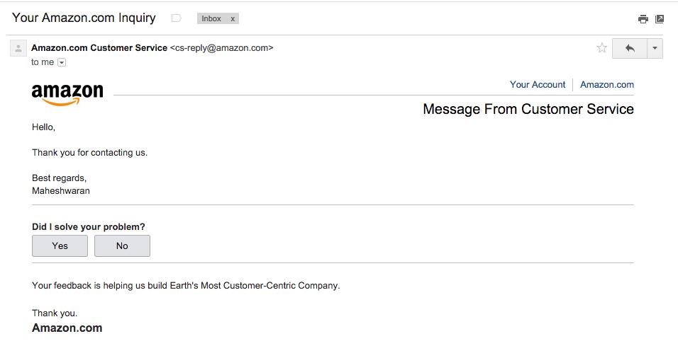 Служба поддержки клиентов, бэкдор от Amazon - 2
