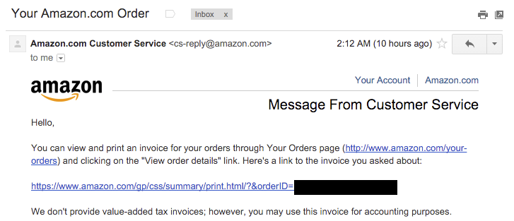 Служба поддержки клиентов, бэкдор от Amazon - 9