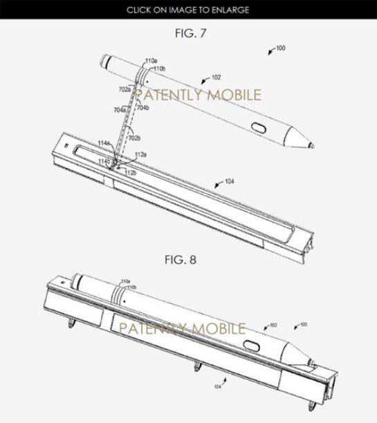 Стилус Microsoft Surface Pen получит док-станцию/зарядку