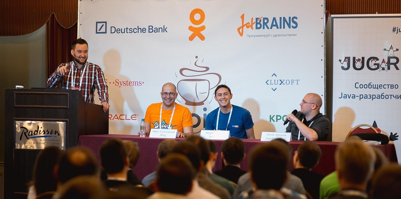 Видео лучших докладов Java-конференции JPoint 2015 — Часть 2 - 1