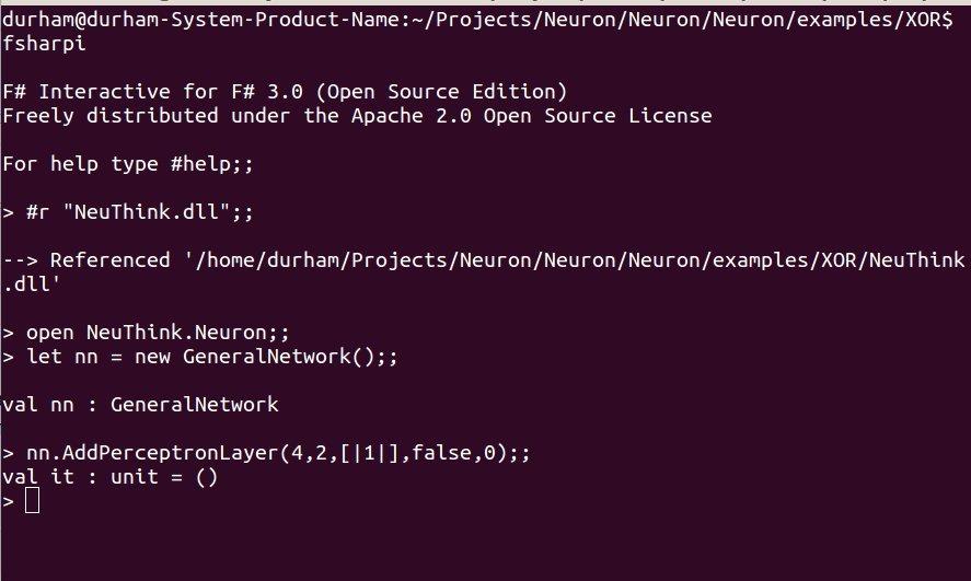 Исходные коды библиотеки нейронных сетей на F# для .NET Framework - 1