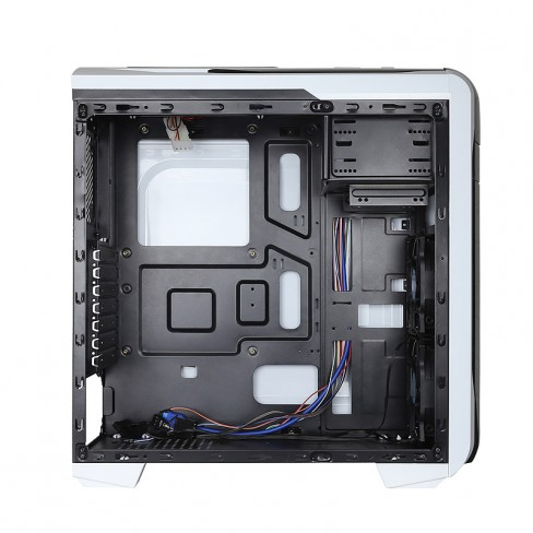 На передней и задней стенках X2 Spritzer 20 установлено по одному 120-миллиметровому вентилятору
